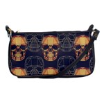 Skull Pattern Shoulder Clutch Bags Front