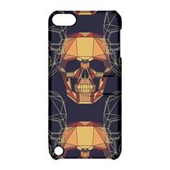 Skull Pattern Apple Ipod Touch 5 Hardshell Case With Stand