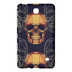 Skull Pattern Samsung Galaxy Tab 4 (7 ) Hardshell Case