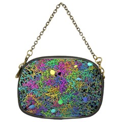 Starbursts Biploar Spring Colors Nature Chain Purses (two Sides)