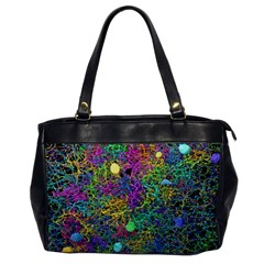 Starbursts Biploar Spring Colors Nature Office Handbags