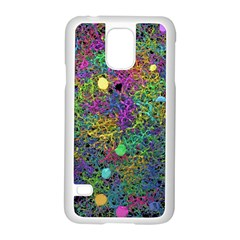 Starbursts Biploar Spring Colors Nature Samsung Galaxy S5 Case (white)