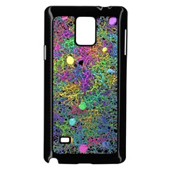 Starbursts Biploar Spring Colors Nature Samsung Galaxy Note 4 Case (black)