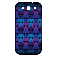 Skull Pattern Wallpaper Samsung Galaxy S3 S Iii Classic Hardshell Back Case