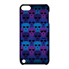 Skull Pattern Wallpaper Apple Ipod Touch 5 Hardshell Case With Stand