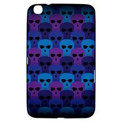 Skull Pattern Wallpaper Samsung Galaxy Tab 3 (8 ) T3100 Hardshell Case