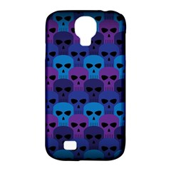 Skull Pattern Wallpaper Samsung Galaxy S4 Classic Hardshell Case (pc+silicone)