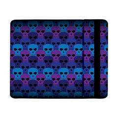 Skull Pattern Wallpaper Samsung Galaxy Tab Pro 8 4  Flip Case