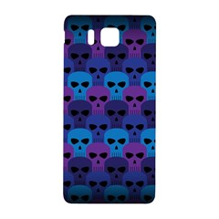 Skull Pattern Wallpaper Samsung Galaxy Alpha Hardshell Back Case