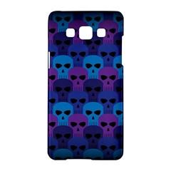 Skull Pattern Wallpaper Samsung Galaxy A5 Hardshell Case