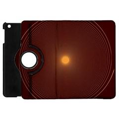 Spiral Vintage Apple Ipad Mini Flip 360 Case