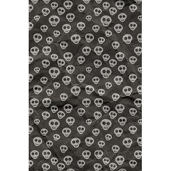Skull Halloween Background Texture 5 5  X 8 5  Notebooks