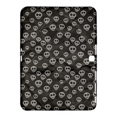 Skull Halloween Background Texture Samsung Galaxy Tab 4 (10 1 ) Hardshell Case