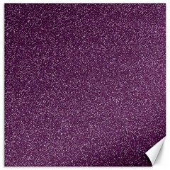 Purple Colorful Glitter Texture Pattern Canvas 12  X 12