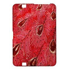 Red Peacock Floral Embroidered Long Qipao Traditional Chinese Cheongsam Mandarin Kindle Fire Hd 8 9