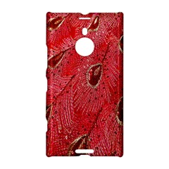 Red Peacock Floral Embroidered Long Qipao Traditional Chinese Cheongsam Mandarin Nokia Lumia 1520