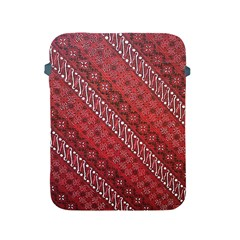 Red Batik Background Vector Apple Ipad 2/3/4 Protective Soft Cases