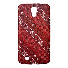 Red Batik Background Vector Samsung Galaxy Mega 6 3  I9200 Hardshell Case
