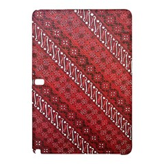 Red Batik Background Vector Samsung Galaxy Tab Pro 10 1 Hardshell Case