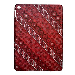 Red Batik Background Vector Ipad Air 2 Hardshell Cases