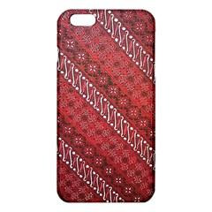 Red Batik Background Vector Iphone 6 Plus/6s Plus Tpu Case