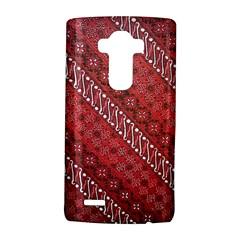 Red Batik Background Vector Lg G4 Hardshell Case