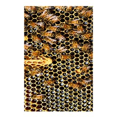 Queen Cup Honeycomb Honey Bee Shower Curtain 48  X 72  (small)