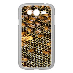 Queen Cup Honeycomb Honey Bee Samsung Galaxy Grand Duos I9082 Case (white)