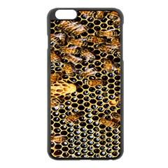 Queen Cup Honeycomb Honey Bee Apple Iphone 6 Plus/6s Plus Black Enamel Case