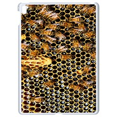 Queen Cup Honeycomb Honey Bee Apple Ipad Pro 9 7   White Seamless Case