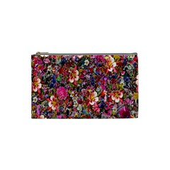 Psychedelic Flower Cosmetic Bag (small)