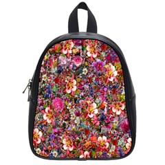 Psychedelic Flower School Bags (small)