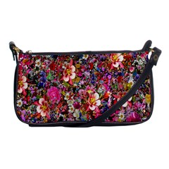 Psychedelic Flower Shoulder Clutch Bags