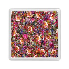 Psychedelic Flower Memory Card Reader (square)