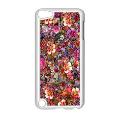 Psychedelic Flower Apple Ipod Touch 5 Case (white)