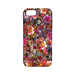 Psychedelic Flower Apple Iphone 5 Classic Hardshell Case (pc+silicone)