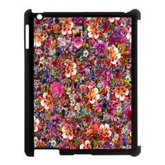 Psychedelic Flower Apple Ipad 3/4 Case (black)