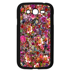 Psychedelic Flower Samsung Galaxy Grand Duos I9082 Case (black)