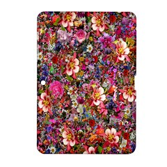 Psychedelic Flower Samsung Galaxy Tab 2 (10 1 ) P5100 Hardshell Case