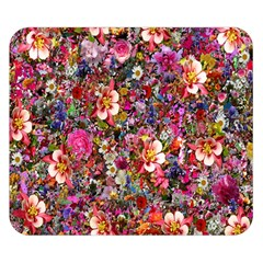 Psychedelic Flower Double Sided Flano Blanket (small)