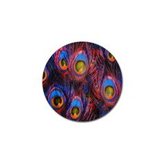 Pretty Peacock Feather Golf Ball Marker (10 Pack)