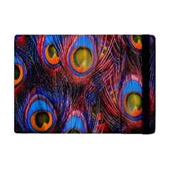 Pretty Peacock Feather Apple Ipad Mini Flip Case