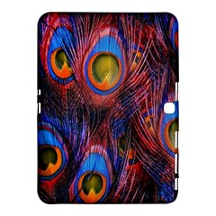 Pretty Peacock Feather Samsung Galaxy Tab 4 (10 1 ) Hardshell Case