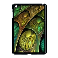 Psytrance Abstract Colored Pattern Feather Apple Ipad Mini Case (black)