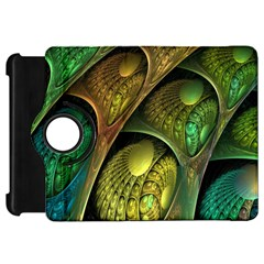 Psytrance Abstract Colored Pattern Feather Kindle Fire Hd 7