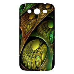 Psytrance Abstract Colored Pattern Feather Samsung Galaxy Mega 5 8 I9152 Hardshell Case