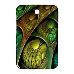 Psytrance Abstract Colored Pattern Feather Samsung Galaxy Note 8 0 N5100 Hardshell Case