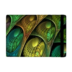 Psytrance Abstract Colored Pattern Feather Ipad Mini 2 Flip Cases