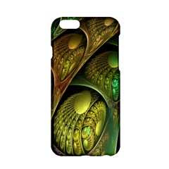 Psytrance Abstract Colored Pattern Feather Apple Iphone 6/6s Hardshell Case