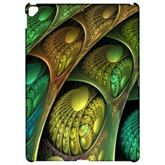 Psytrance Abstract Colored Pattern Feather Apple Ipad Pro 12 9   Hardshell Case